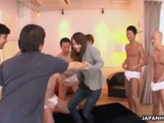 تحقق اليابانية أي, كامل مجموعة الجنس معظم, عظيم الصغيرة الثدي جديد