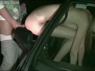 Extreme Fucking in Public of a Cute Young Blonde Teen