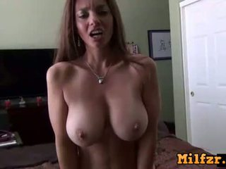 MILFZR Mom gets excited after seeing neighbours and bangs her son POV