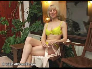 real granny tube, mature, see interview video
