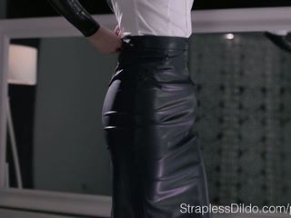 brunette, kwaliteit sex toy mov, pervers