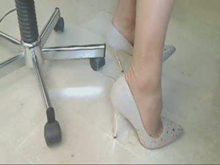 voet fetish seks, groot kousen actie