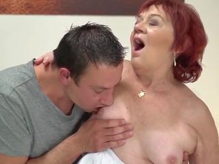 Granny Marsha Remembers how Her Young Lover Perfectly