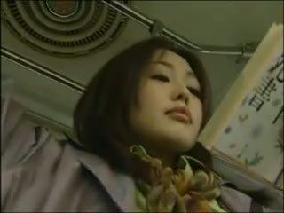 hottest japanese, lesbian movie, bus