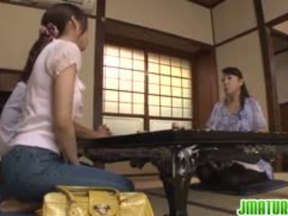 일본의, 핥기, 운지법