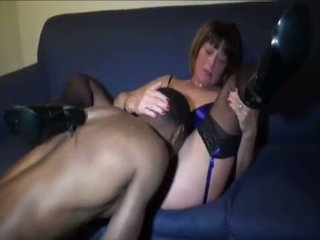 hot cougar, old, interacial channel