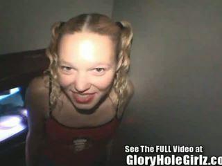 Liv wylder lives out her glory hole fantasy!