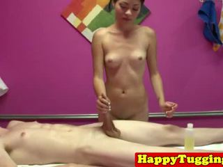 hq realiteit klem, masseuse scène, masseur video-