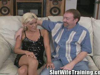Husband sends Viki out to be a slut