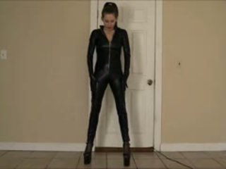 Lelu Love Catsuit Tease And Denial POV Blowjob