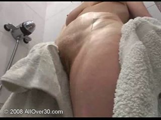 you masturbating, all granny, fresh shower posted