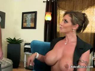 nice brunette hot, great big boobs hot, watch blowjob