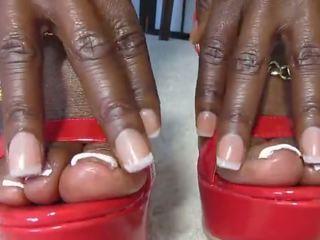 fresh black and ebony fucking, see foot fetish vid, free femdom scene