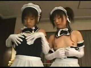 Amatöör japonese tüdrukud orgia