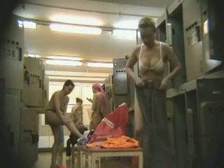 beste voyeur, groot hidden cam, plezier locker room