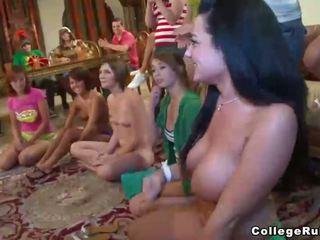 stripper, stranka, kolegij dekleta