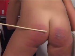 spanking thumbnail, kwaliteit castings, heet canings scène