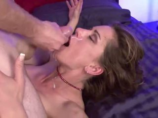 Milf tricks neighbor's son and seduces in to fuck