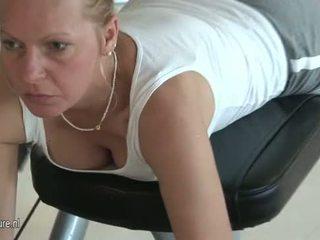 Hot Mature women Gym workout