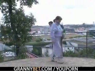 virkelighet, gammel, bestemor, bestemor