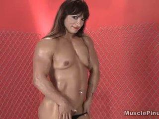 ideaal brunette, vers vaginale masturbatie vid, vers solo girl mov