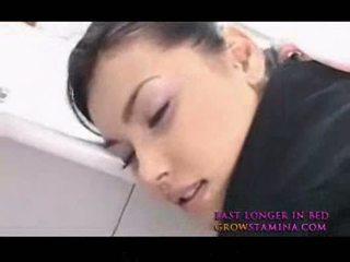 Maria ozawa हॉट एशियन stewardes फक्किंग से पीछे 2