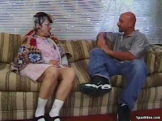 Abuelita gets reamed por joven hombre