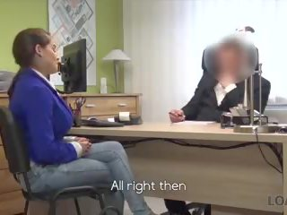 auditie neuken, interview, boob