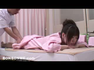 een brunette, vers japanse, kijken tieners vid
