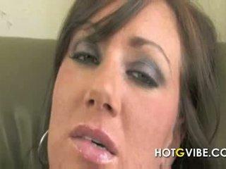 nominale tieten neuken, groot brunette, groot mollig