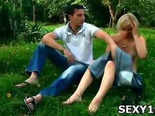 seks in de buitenlucht video-, u buiten- porno, echt naakt outdoors neuken