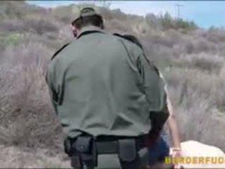 Border Patrol Agent Fucked Latina Babe Kimberly Gates