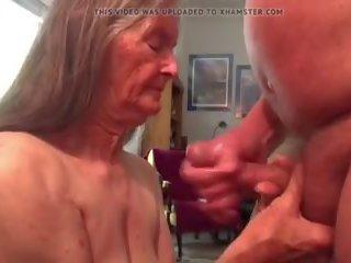 plezier, meest cum in de mond, grootmoeder
