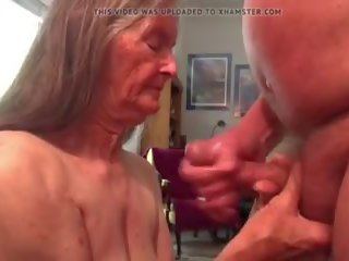 vol plezier scène, ideaal cum in de mond tube, grootmoeder mov