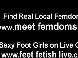 echt voet fetish neuken, lingerie vid, femdom