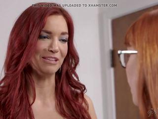 alle lesbiennes, beste milfs mov, meer roodharigen thumbnail