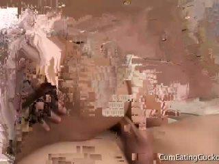 Tia cyrus ใน ถูกบังคับ bi cuckolds!