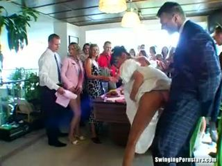 wedding nejžhavější, volný výstřik, strana hq