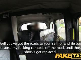 Faketaxi british taxi gangbang
