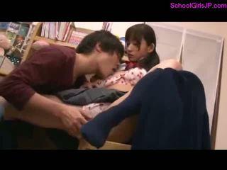 controleren japanse mov, u meisje vid, schoolmeisje actie