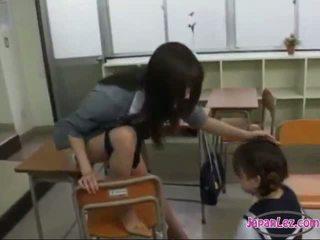 echt japanse, controleren lesbisch neuken, plezier aziatisch gepost