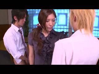 nominale brunette thumbnail, japanse film, groot zoenen seks