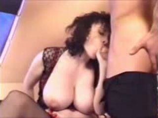 Huge Boobs Milf Stepmom Helping Her Stepson