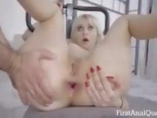 geneukt neuken, nieuw gapende, mooi anaal neuken