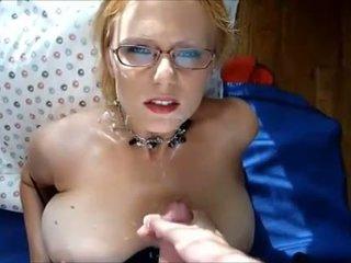 orgasme video-, klaarkomen, nominale bril