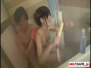 יפני, מקלחת, הארדקור, שעיר
