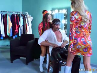 Brazzers - Dirty Hippie threesome