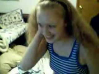 Blonde Teen Wants To Masturbate On Webcam