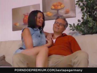 Sextape Germany - Hot Blowjob Sex with German Amateur