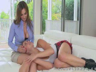 Mia malkova erstaunlich lesbisch seduction